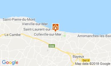 Mappa Arromanches Agriturismo 102842