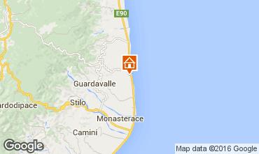 Mappa Santa Caterina dello Ionio Appartamento 78323