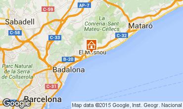 Mappa Barcellona Casa 44076