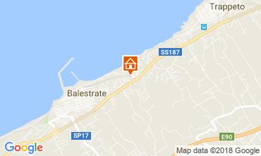 Mappa Balestrate Villa  113429