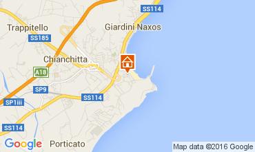 Mappa Giardini Naxos Appartamento 86725