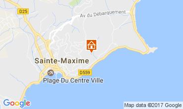 Mappa Sainte Maxime Villa  108708