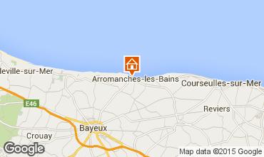 Mappa Arromanches Agriturismo 81097