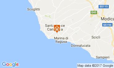 Mappa Marina di Ragusa Villa  88035