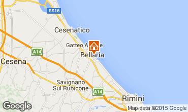 Mappa Bellaria Igea Marina Appartamento 88414