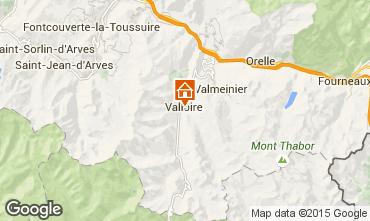 Mappa Valloire Appartamento 100352