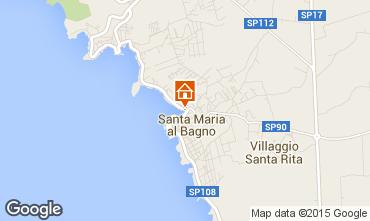 Mappa Santa Maria al Bagno Appartamento 61925