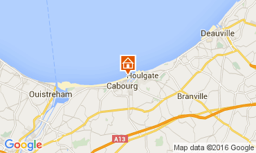 Mappa Cabourg Appartamento 83196