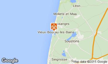Mappa Vieux Boucau Appartamento 10054