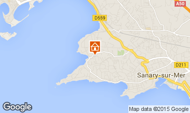 Mappa Sanary Appartamento 79595