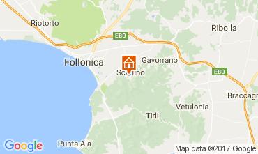 Mappa Scarlino Appartamento 109783