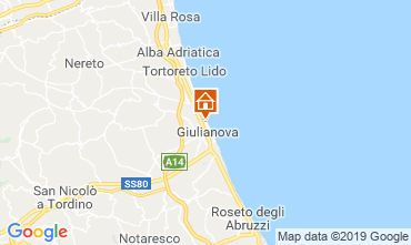 Mappa Giulianova Appartamento 119098
