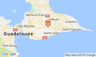 Mappa Sainte Anne (Guadalupa) Casa 115139