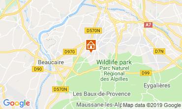 Mappa Saint Rémy de Provence Agriturismo 118685