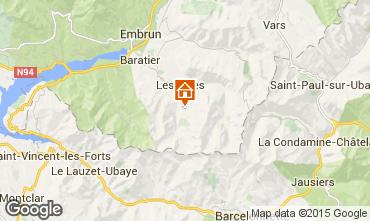 Mappa Les Orres Monolocale 2089