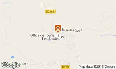 Mappa Les Saisies Appartamento 29243