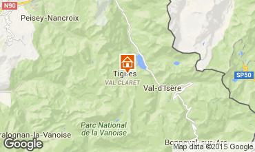 Mappa Tignes Monolocale 39681