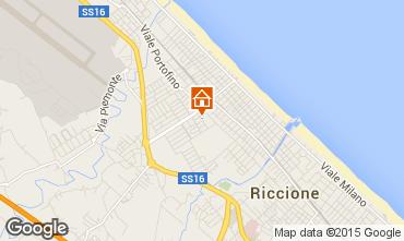 Mappa Riccione Appartamento 41943