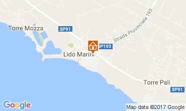 Mappa Lido Marini Casa 107649