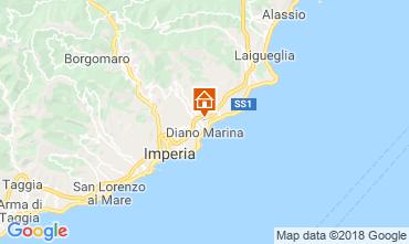 Mappa Diano Marina Appartamento 117571