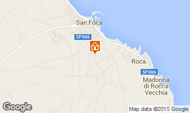 Mappa San Foca Appartamento 79395