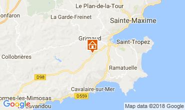 Mappa Saint Tropez Villa  64669