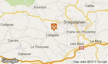Mappa Lorgues Villa  101905