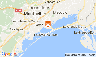 Mappa Montpellier Casa mobile 107400