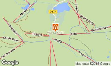 Mappa Tignes Appartamento 82111