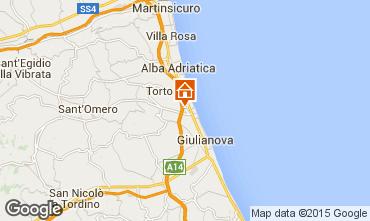 Mappa Tortoreto Appartamento 96934