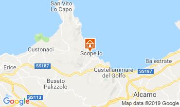 Mappa Scopello Villa  66027