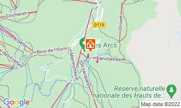 Mappa Les Arcs Monolocale 101487