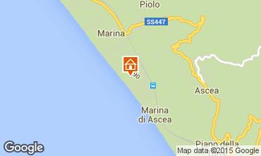 Mappa Ascea Appartamento 98394