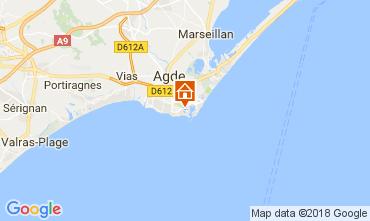 Mappa Cap d'Agde Appartamento 99840