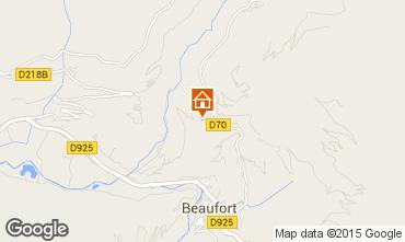Mappa Areches Beaufort Appartamento 32832