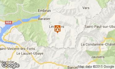 Mappa Les Orres Appartamento 16957