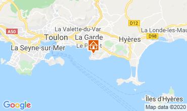 Mappa Le Pradet Casa 111738