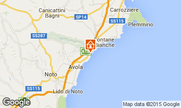 Mappa Avola Villa  94530