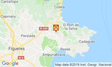 Mappa Rosas Villa  113995