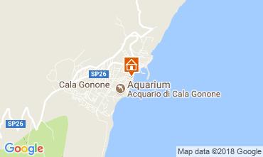 Mappa Cala Gonone Appartamento 77886