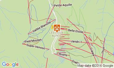 Mappa Les 2 Alpes Appartamento 105180