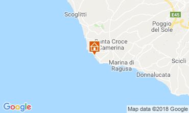 Mappa Punta Secca Villa  87513