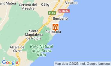Mappa Peñíscola Appartamento 118509