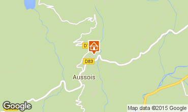 Mappa Aussois Agriturismo 58490