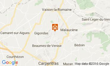Mappa Vaison la Romaine Agriturismo 95444