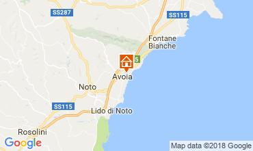 Mappa Avola Villa  115324