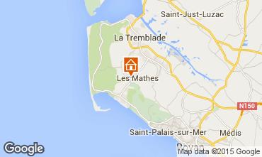 Mappa La Palmyre Casa mobile 80969