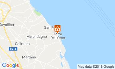 Mappa Torre dell'Orso Appartamento 108860