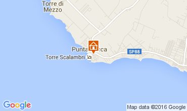 Mappa Punta Secca Appartamento 105750