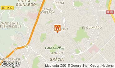 Mappa Barcellona Appartamento 76768